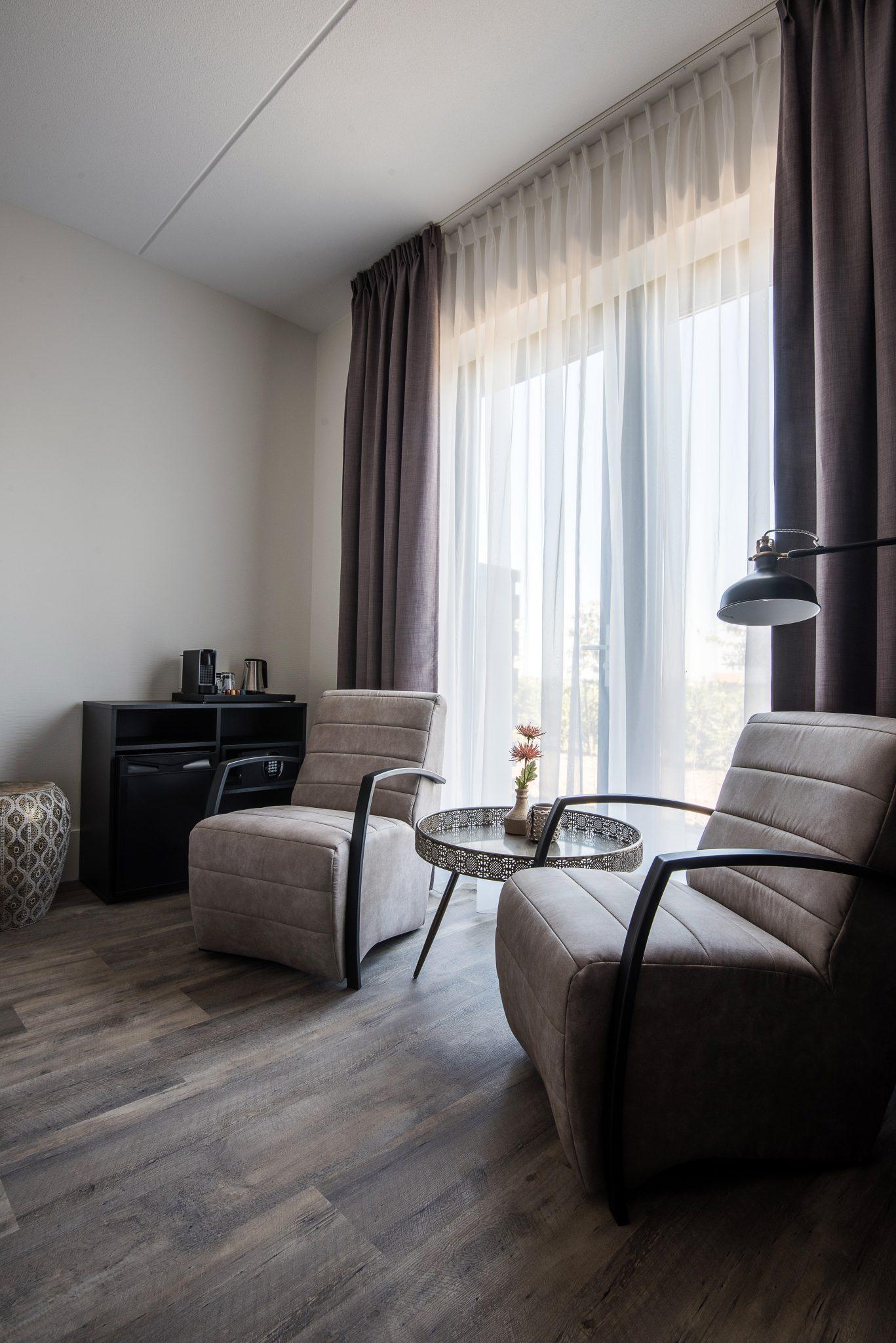luxe kamer met fransbalkon